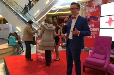 Host at shopping center events