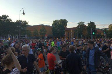 Münchner Radlnacht 2018