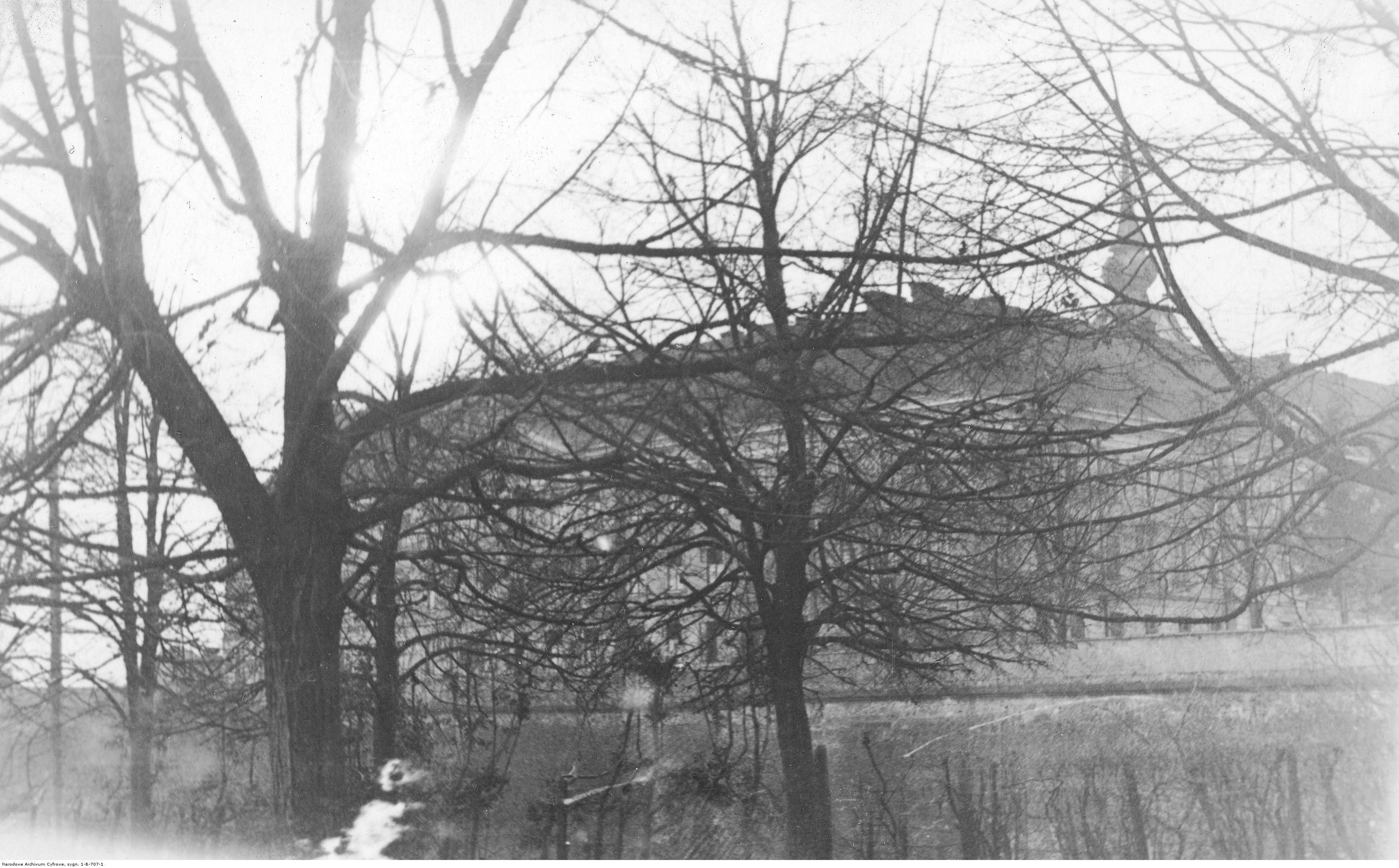 Budynek więzienia w Rzeszowie, rok 1930-1939
