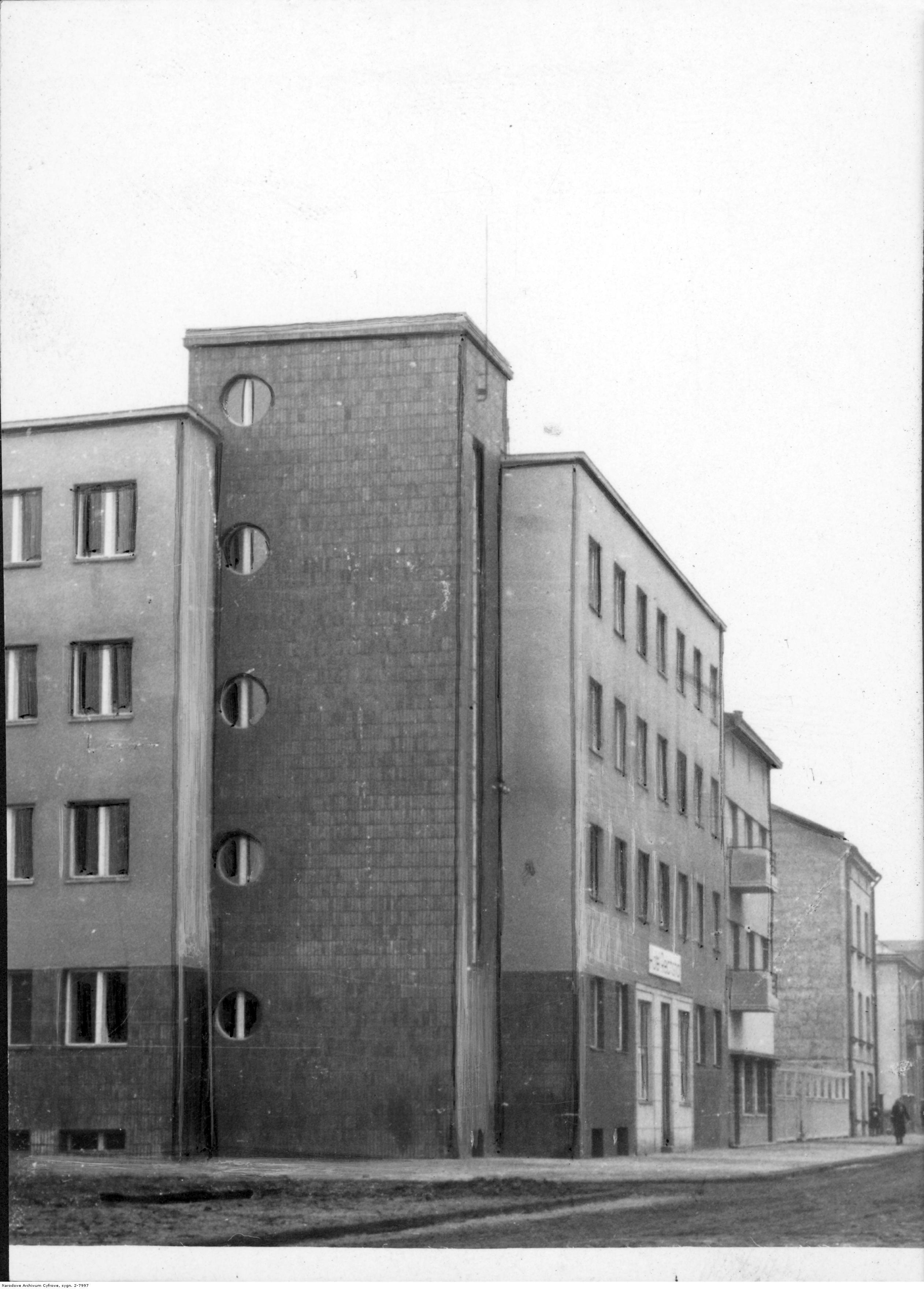 Hotel Reichshof w Rzeszowie, rok 1940-12