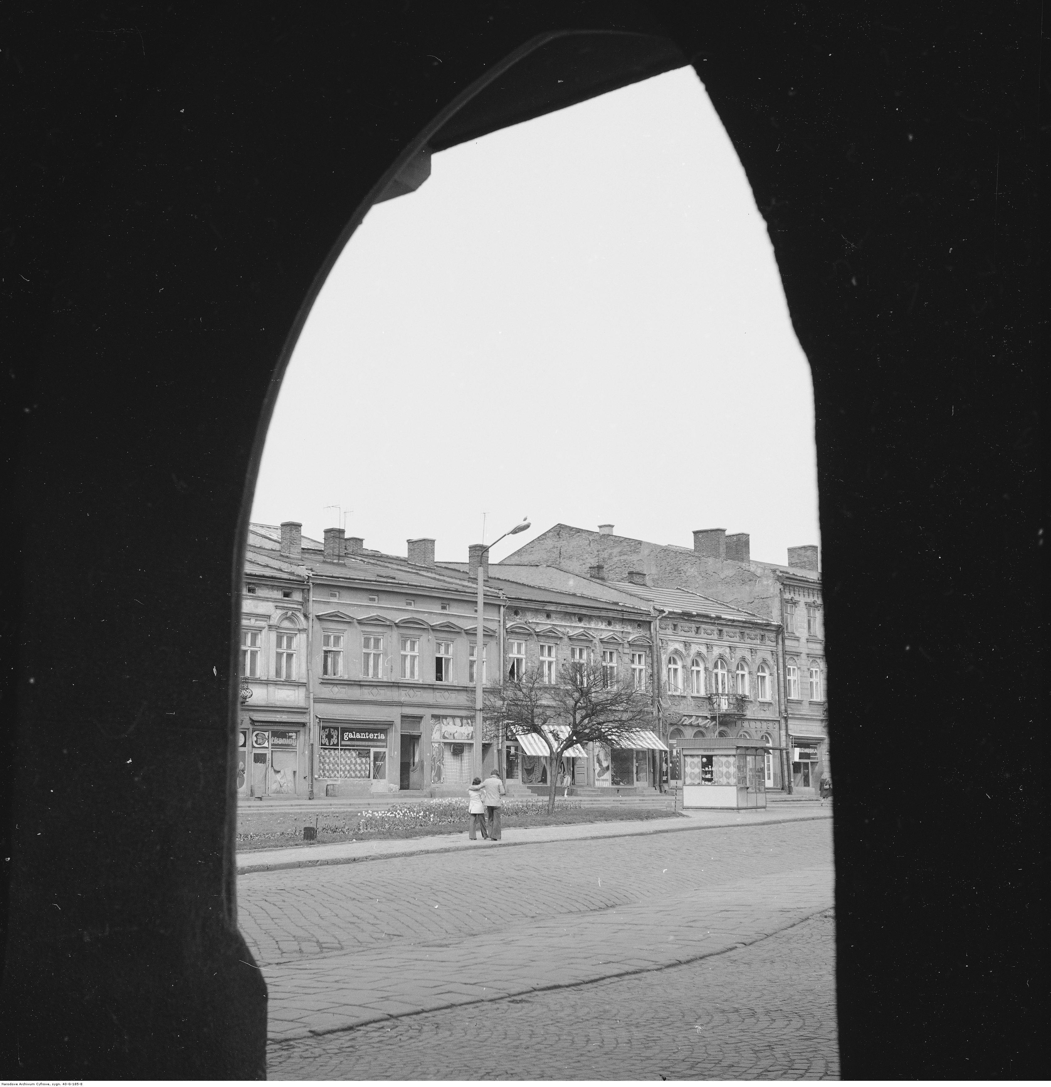 Kamienice przy Rynku, rok 1974-05-12