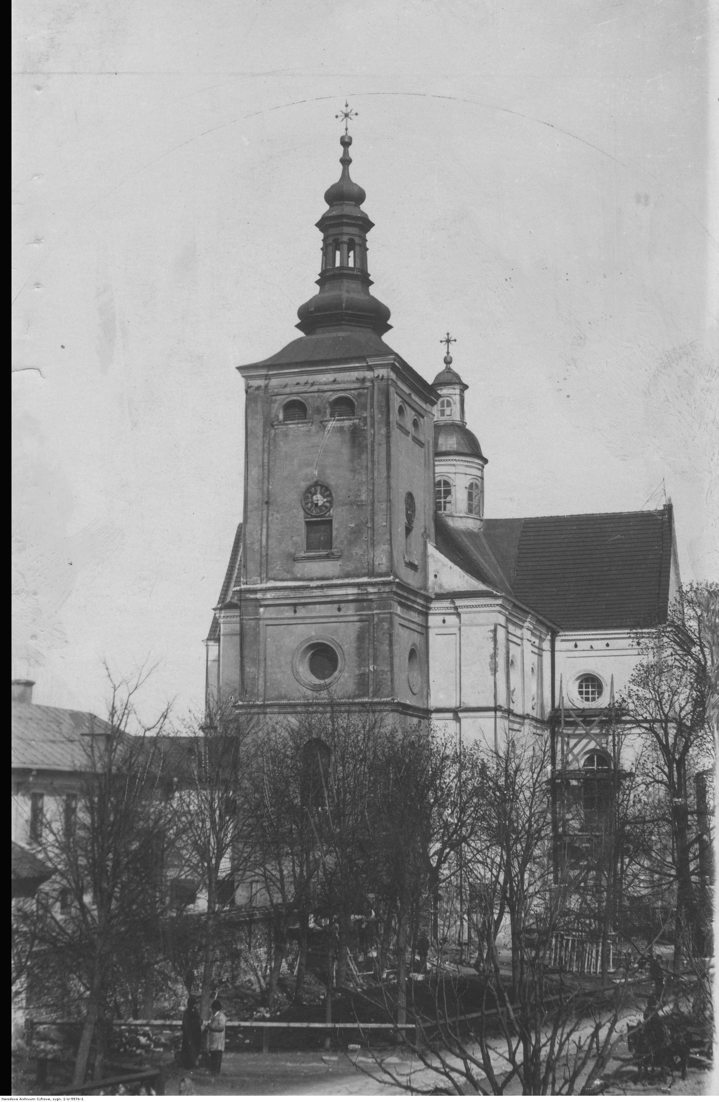 Kosciół Bernardynów w Rzeszowie, rok 1918-1937