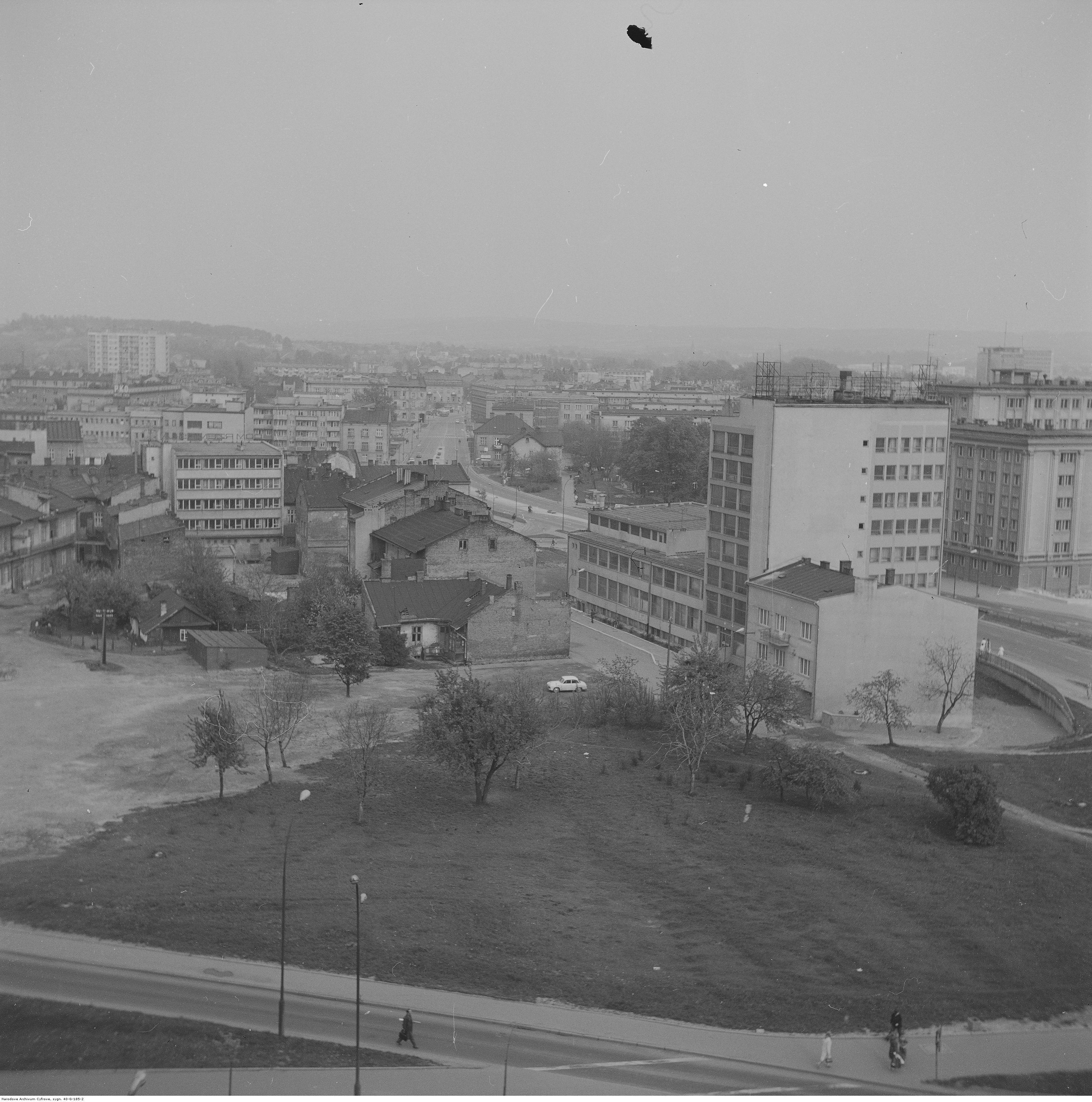 Panorama Rzeszowa, rok 1974-05-12