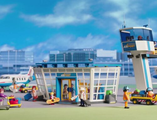 """Voice-over Playmobil """"City Airport"""""""