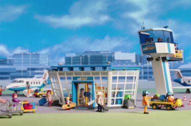 Playmobil City Flughafen (Polnischer Sprecher)