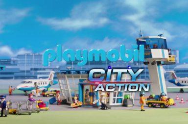 Playmobil lotnisko