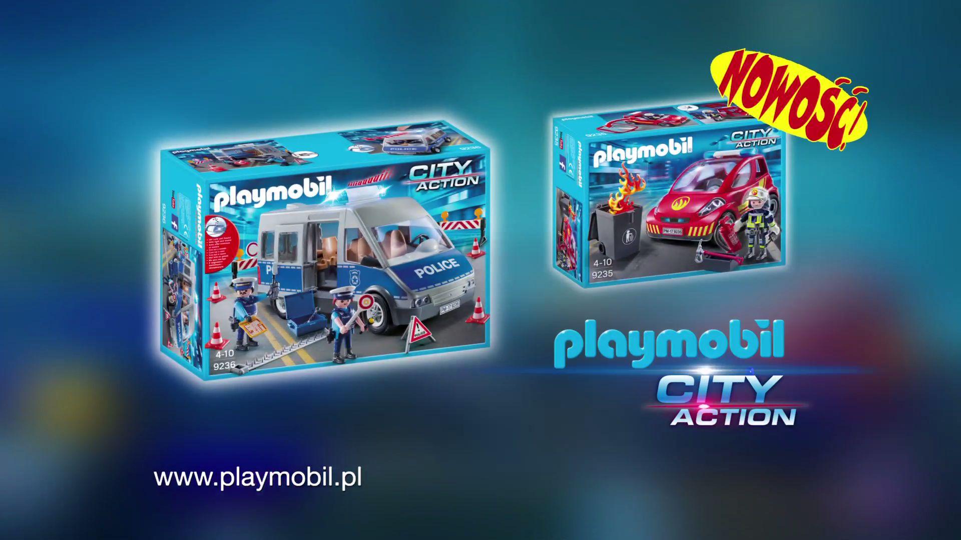 Playmobil Police Fire Brigade