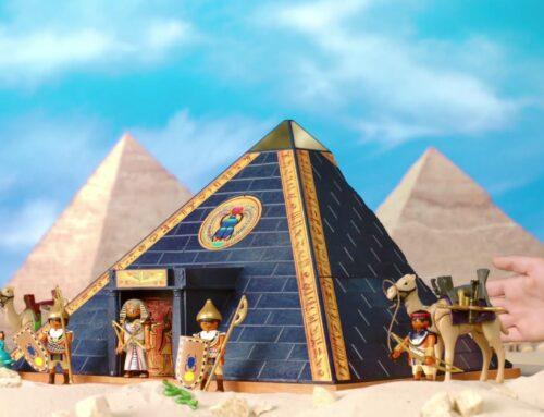 Głos lektorski do spotu TV Playmobil (Rzymianie i Egipcjanie)