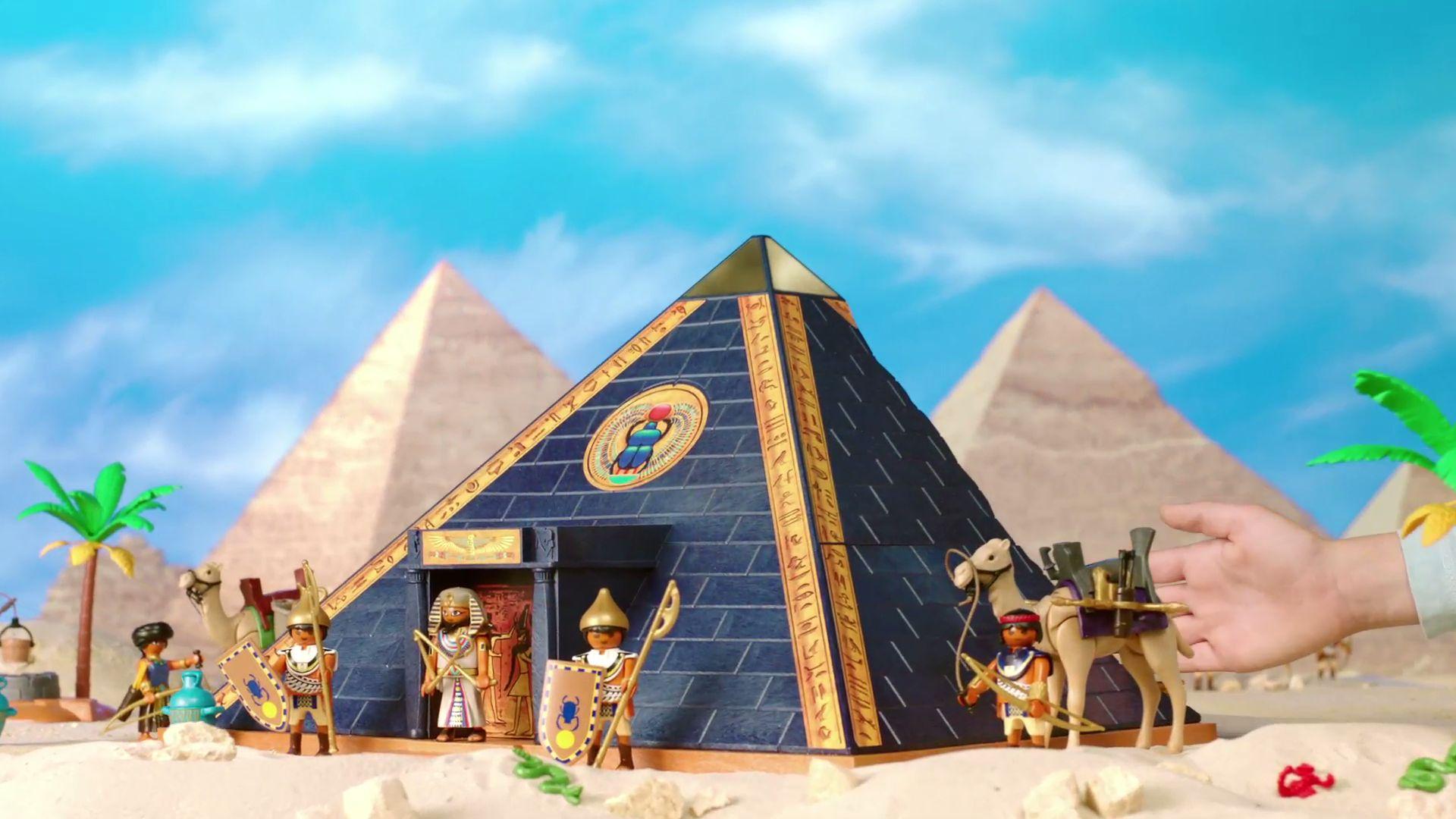 Playmobil Rzymianie i Egipcjanie
