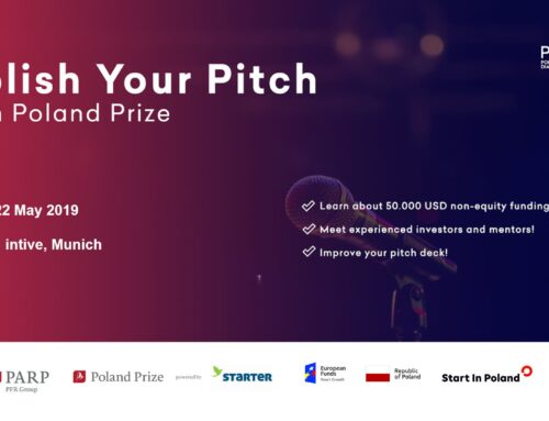 Polish your Pitch! with Poland Prize (Munich edition)