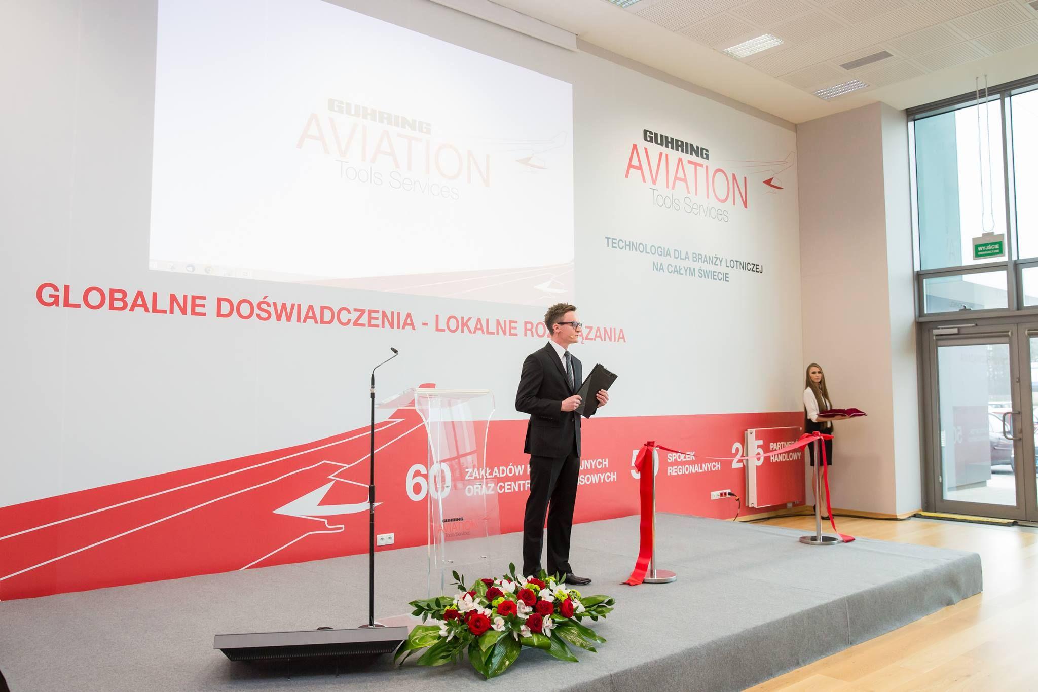 Event Moderator für Eröffnungsveranstaltung
