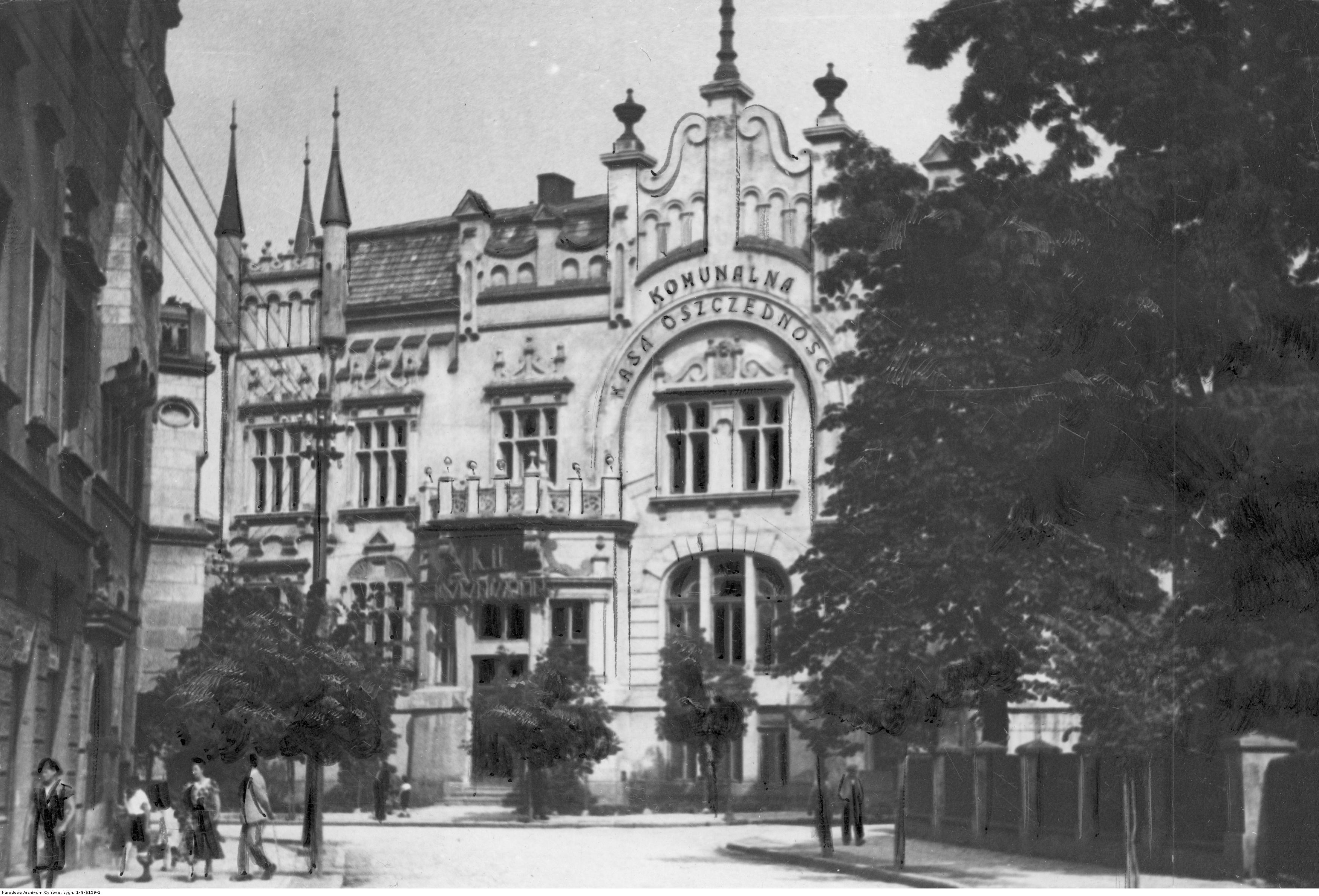Rzeszów, Komunalna Kasa Oszczednosci, rok 1933
