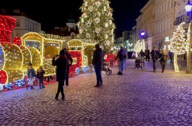 Rzeszów świąteczny Rynek 2020