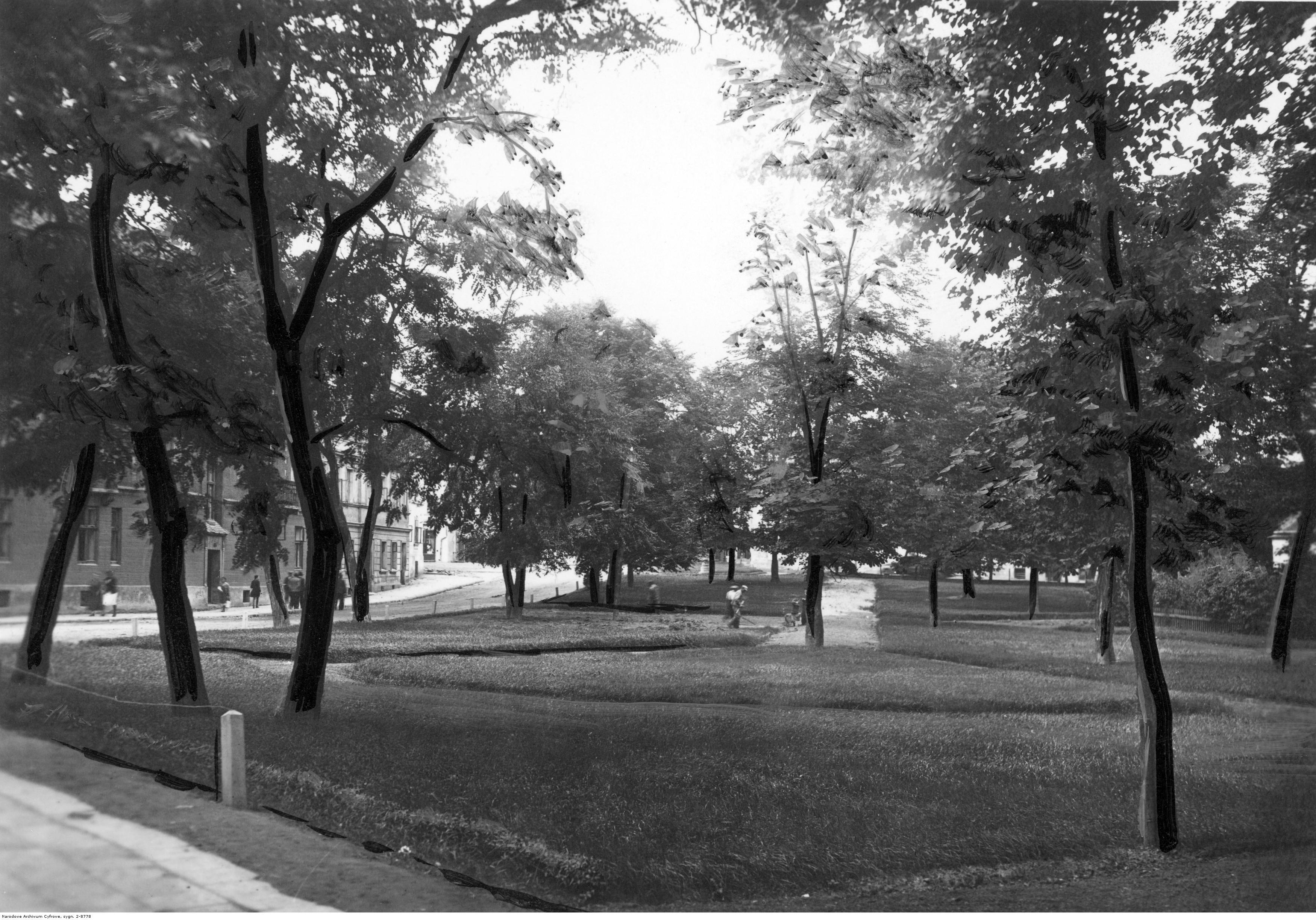 Park w Rzeszowie, rok 1939-1940