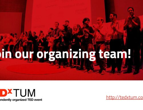 TEDxTUM in Munich 2018