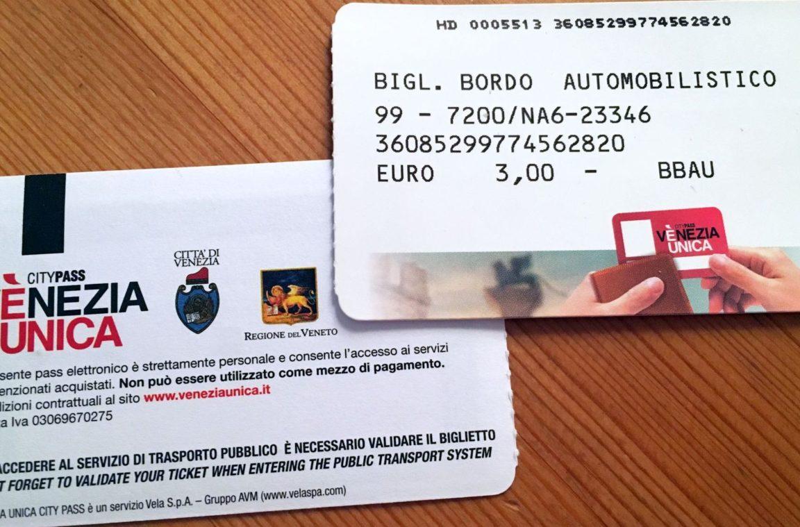 Venezia Unica Ticket (Citypass)